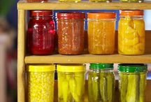 canning, compound butters, jellies, ect / by Melanie Violette