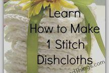 Knit.....crochet / by Carolyn Bruce