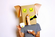 Cardboard  / by Angela White