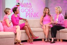 GMA Goes Pink / GMA Goes Pink to raise breast cancer awareness. Learn more about breast cancer and sign the Pink Pledge here: http://abcn.ws/1uzTJwc / by Good Morning America