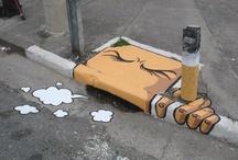 Street Art & Stencils / Love street art! / by Samanata Thapa