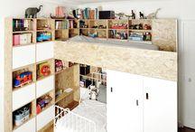 kids rooms / by Aleksandra Averjanova