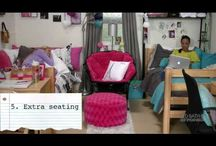 college dorm ideas / by Jasmine Perez-Coste