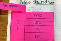 Word Work: Prefixes and Suffixes / by M Sutermaster
