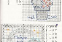 Cross Stitch - Food / by May Jerzak