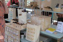 Church Bazaar/Craft Fair display booths / by Marcia Shepherd