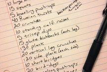 Workout Ideas / by Aubrey Flores