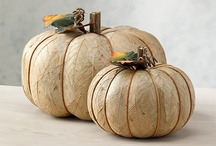 Gourdgeous Pumpkins / Natural decorations are my favorite and the most accessible and versatile mediums for my preference is pumpkins. As the most recognizable Thanksgiving accessory, next to the cornucopia, they make wonderful decorations.  / by GrandCanyon BedandBreakfast
