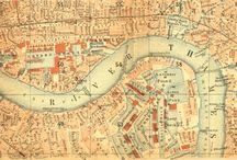 vintage maps / by Kate Livesey