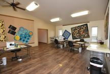 Quiltworx Training Center / With the construction of our new building, we added a training center, where Judy will be holding her training workshops for Certified Shops and Instructors, moving forward! http://www.quiltworx.com/quiltworx-training-center/ / by Quiltworx Judy Niemeyer