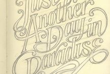 typography / by Grace Bowman