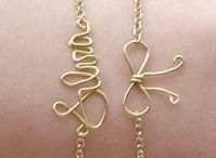 DIY jewelry  / by sarah renee