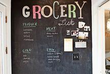 Chalkboard Walls / by Layla Palmer