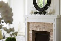 Mantel Styling Ideas / by Amy Priddy
