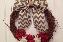 Wreath making ideas / by Tracie Hiatt