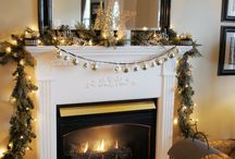 Christmas Mantel Ideas / by Angela Snell