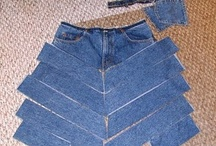 Denim/jeans .....  recycled / by Cathy Abbey