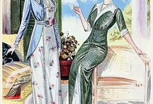 Dress-up Regency 1800-1825 & Edwardian 1908-1914 /    I know theses date only reflect a portion of these eras in fashion. I am working on a project that combines the 2    / by Pinky Shear