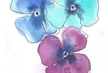 Watercolors to try / by Shevani Sahai
