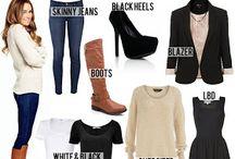 wardrobe essentials / by Liz Martinez