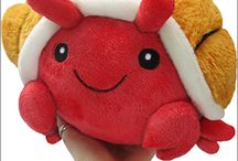 Kawaii! Cute toys! / Kawaii! Cute toys and things! I don't care that I'm an adult, I want cute toys! / by Awkward Soul