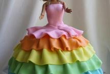 Doll or Barbie cakes / by Marsha Rudd