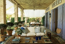 Porch or Patios / Some days you just have to sit a spell and enjoy God's creation from your porch. / by Linda Hutchinson