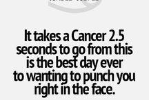 About Cancer - Zodiac / by Patti Craven