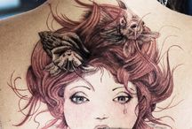 Beautiful tattoo's / by Emily B Lawrence