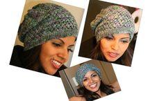 Crochet - Beanies, hats, scarfs and gloves. / by Talana Olivier