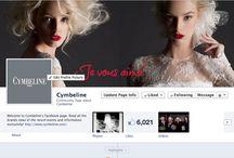 Join us on Facebook! Rejoignez-nous sur Facebook! / by Cymbeline Paris