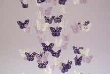 Lavender/Butterfly Girl Nursery / by Jessica Kureth
