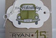 Cards Birthday Numbers / by Vania May