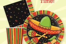 Time for a fiesta! / Colorful, fun party supplies for Cinco de Mayo or Fiesta themed events! / by SmileMakers