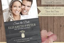 Invitations and Save the Dates / by Catie Munns