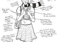 Fiber Arts: Knitting & Crochet / Knitting, Crochet, Yarn / by Rachel Kluesner