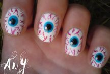 Nail Art / This isn't my art, but a collection of links available on the web. / by Conny Berghmans