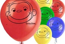 Curious George birthday party / by Millie Freeman