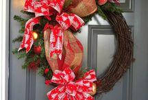 Wreaths & door decor / by Rachael Caines