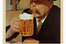 Beer Ads / I love the old ads for beer through the years and around the world! / by Jay Brooks
