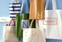 Tote Bag Obsession / Someday I will make a bunch of tote bags. . .  / by Heidi Binkley