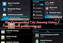 CyanogenMod / by Ultimate Resource for your Samsung Galaxy device www.GalaxYYounG.Net
