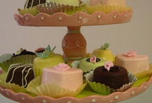 My Cake Plate Collection / by Shirley Wilson