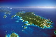 St. John, USVI - Caribbean / With 60% of its land area comprising a pristine national park, St. John is as far away as you can get from civilization, but still be just a short distance from upscale jewelry stores and boutiques. A visit to St. John is a must for those seeking true escape. / by RumShopRyan - Caribbean Blog