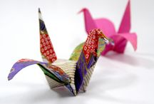 ♥origami♥ / the art of making things from paper / by Catrina Waters