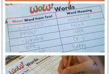 Kindergarten- Vocabulary / by Amber Puckett