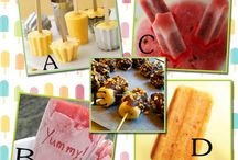 Ice Cream & Popsicles / by My Fancy Princess -