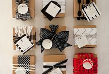 Wrap it Up  / The gift warp is as equally fun as the present.  / by Lindsey Bremner