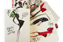 Christian Lacroix  / Famous for its provocative mix of patterns, both bold and romantic. Pick from our exciting line of journals & stationery designed by this Parisian couturier.  / by Kate's Paperie
