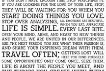 Quotes / by Heidi Alysse